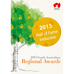 2015 South Australia Regional Hall of Fame Inductee Arts