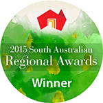 2015 South Australian Regional Awards Winner Badge