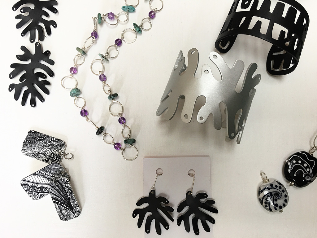 Black and White fashion essentials from our collection of Kangaroo Island's finest jewellery artists. You'll find that something extra for your winning look.