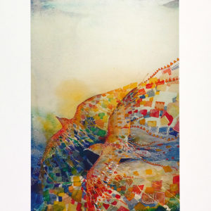 Flight - archival quality fine art reproduction from original watercolour by Australian artist Janet Ayliffe.