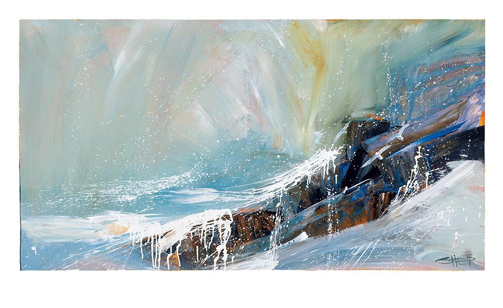 Sea Spray by Neil (Shep) Sheppard. Fine Art Reproduction
