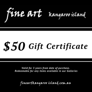 $50 gift certificate - give the gift of art